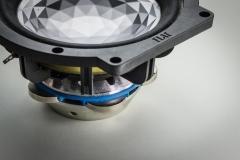 Scheibenmagnete in Lautsprecher-Aufbau