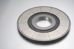 Magnetsegmente in ringförmigen Magnetsystem
